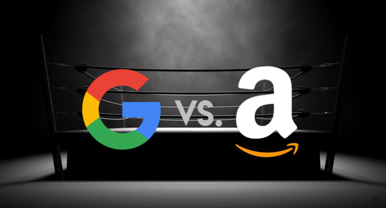ما الفرق بين جوجل وأمازون؟